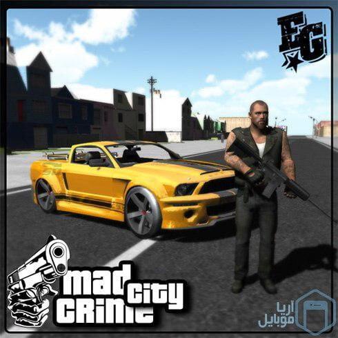 دانلود نسخه مود شده بازی Mad City Crime 2.03 Android
